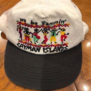 "Vintage ""we be Jammin"" Rasta Cayman Islands hat"